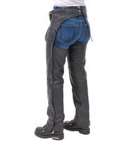 Premium Buffalo Leather Chaps w/Lining #C8000