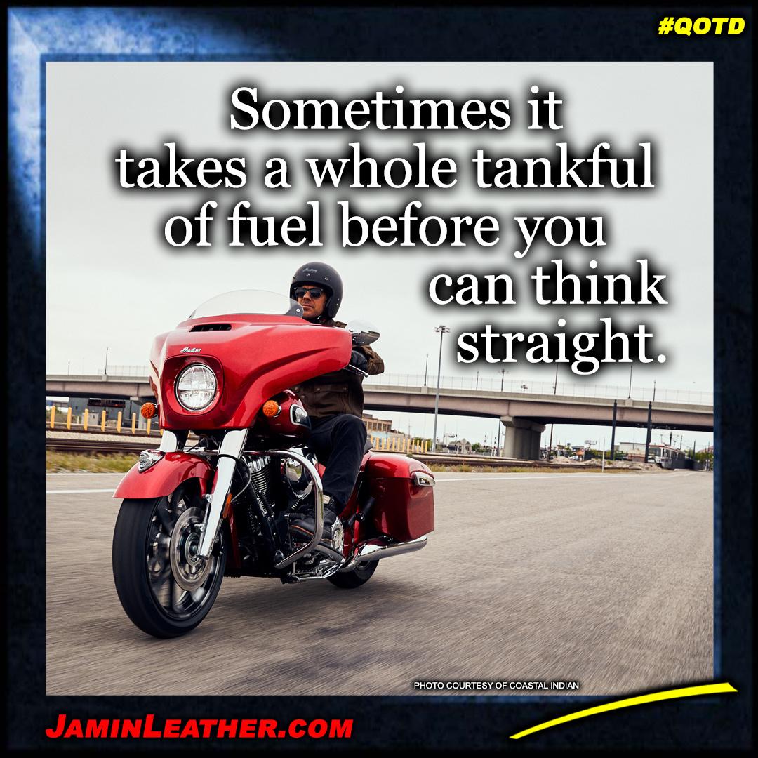 Sometimes it takes a whole tankful...