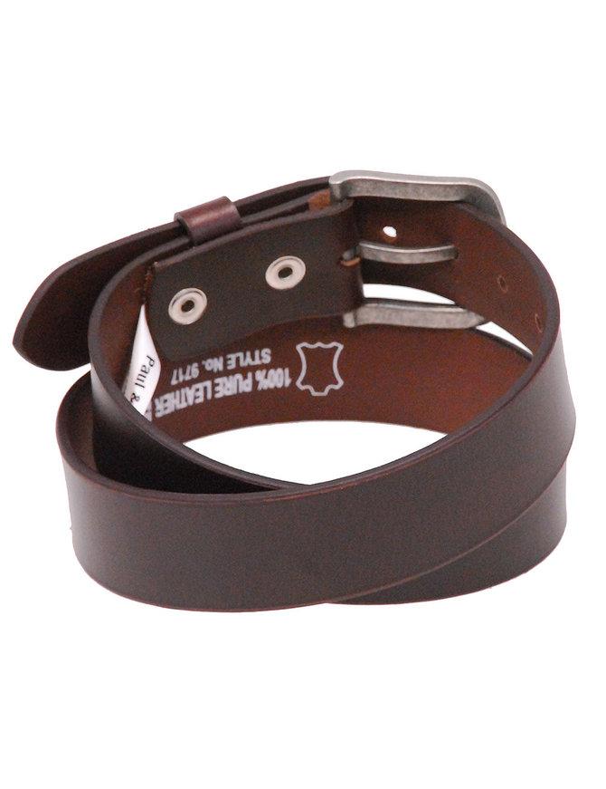 Heavy Veg-Tan Brown Leather Belt #BT97171N