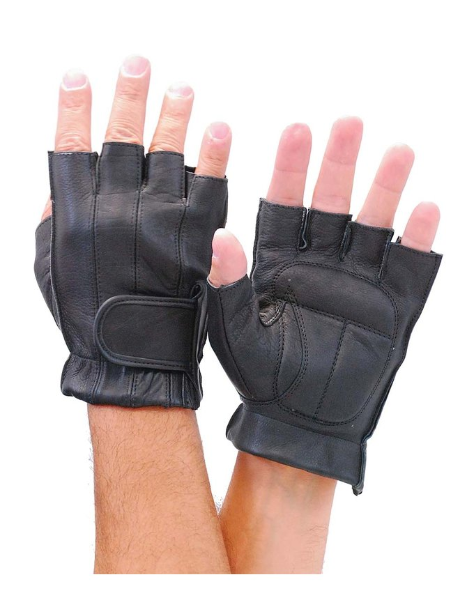 Vance Premium Gel Palm Fingerless Gloves #G442GEL
