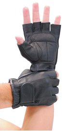 Premium Gel Palm Fingerless Gloves #G442GEL