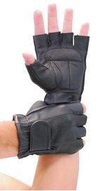 Vance Premium Gel Palm Fingerless Gloves #G442GEL