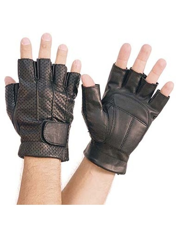 Vance Vented Fingerless Gel Palm Gloves #G7016VK