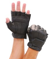 Premium Gel Palm Fingerless Gloves #G442GEL