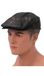 Unik Vintage Brown Biker Cap Ivy Cap Style #H9200DN