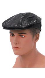 Unik Vintage Black Biker Cap Ivy Cap Style #H9201DK