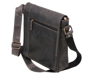 Jsix 100/% Handmade Cowhide Leather Bag Satchel Vintage Brown