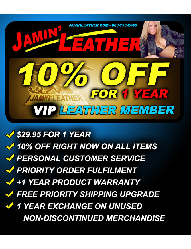 VIP Leather Club Membership for 1 YEAR #JLCMEMBERSHIP