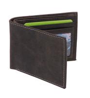 Vintage Black Bifold RFID Wallet w/Photo Insert #WM13010KID