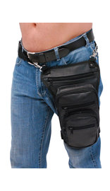 Large 5 Pocket CCW Thigh Bag #TB5851GK