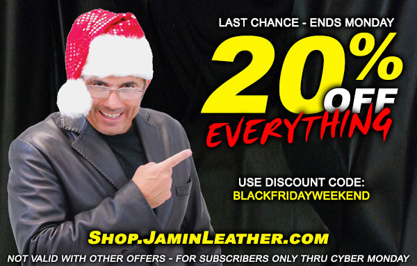 Bad Santa is Never Happy... But Maybe with 20% Off Everything