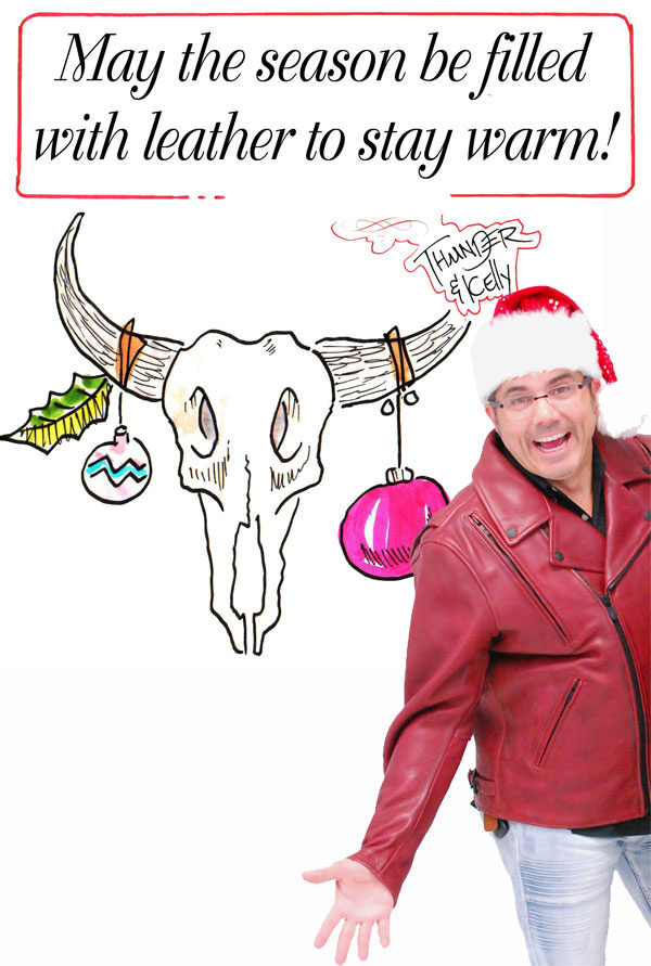 Season's Greetings from Jamin Leather!