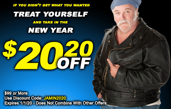 Take in the New Year with $20.20 Off Your Purchase!