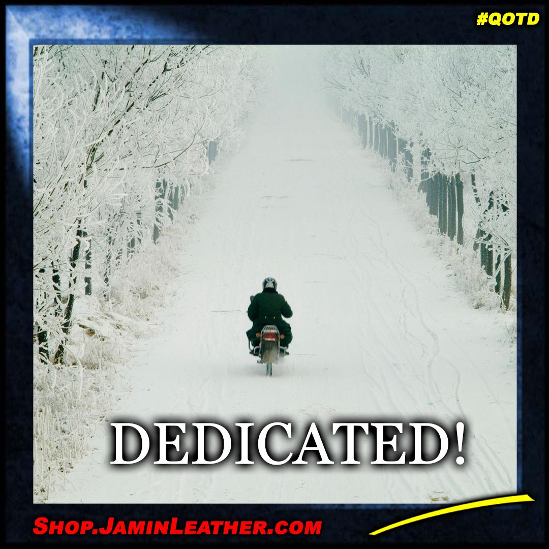 Dedicated!