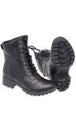 "Women's 7"" Lace-Up Riding Boots with Zipper #BL8650LK"