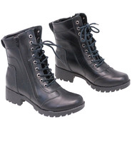 """Women's 7"""" Lace-Up Riding Boots with Zipper #BL8650LK"""