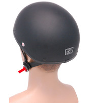 D.O.T. Flat Black Helmet #H9770FK