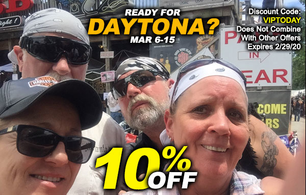 Ready for Daytona? Here's a Special Discount Just for You!
