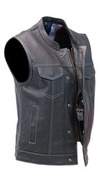 Unik CCW USA Flag Club Vest w/Easy Access Pocket #VM6665GFK