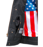 Unik CCW USA Flag Club Vest w/Easy Access Pocket #VM6665GFK