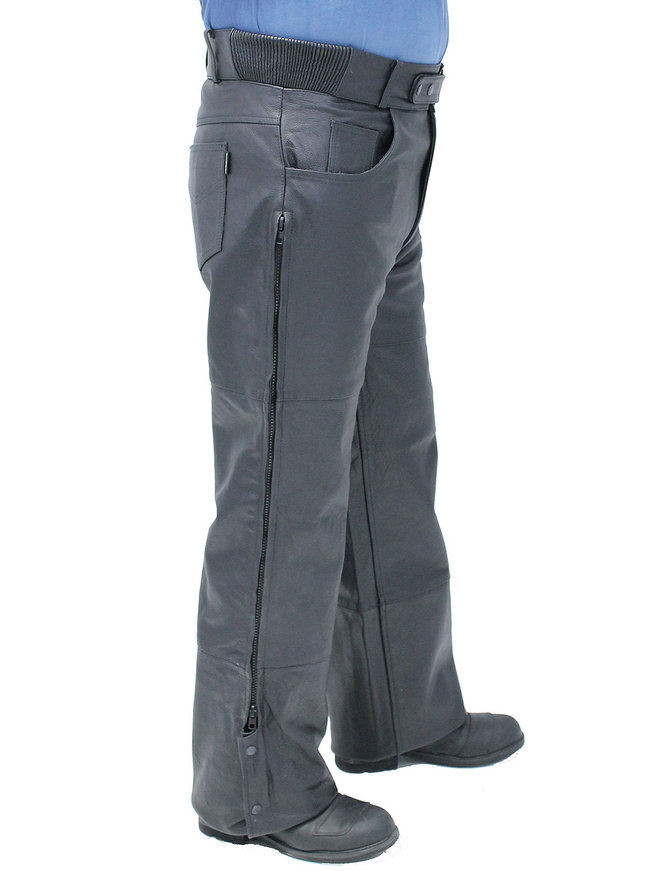 Unisex Premium Leather Motorcycle Overpants #MP506