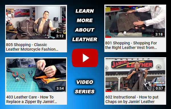 Shopping & Leather Repair Videos + 20% Off Stimulus