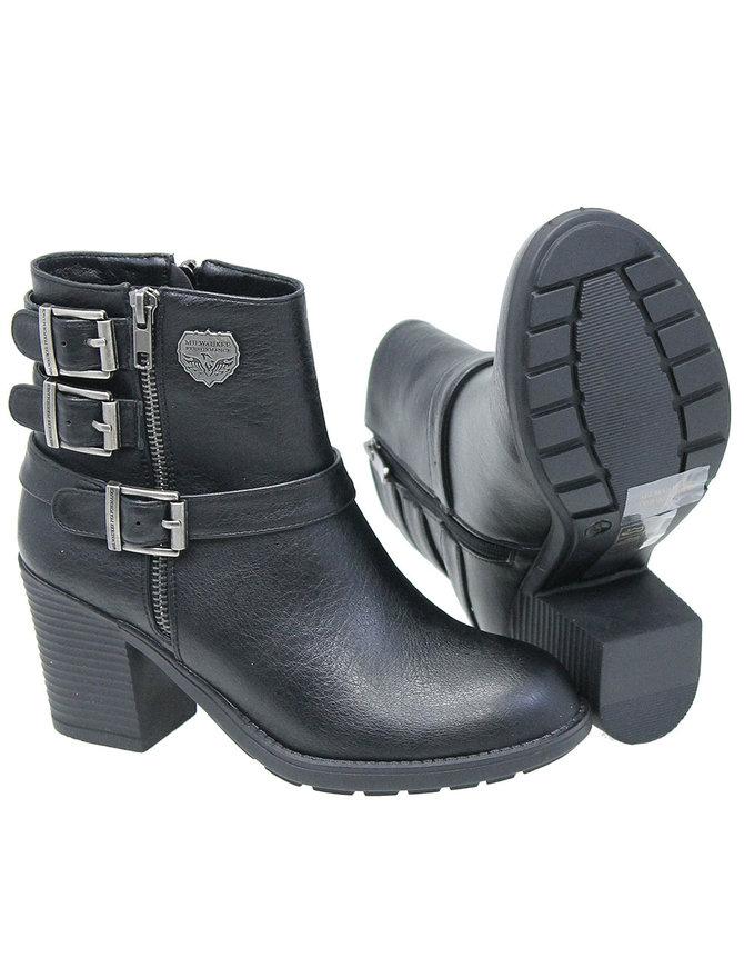 Milwaukee Milwaukee Black Buckle Boot #BLC9405ZK