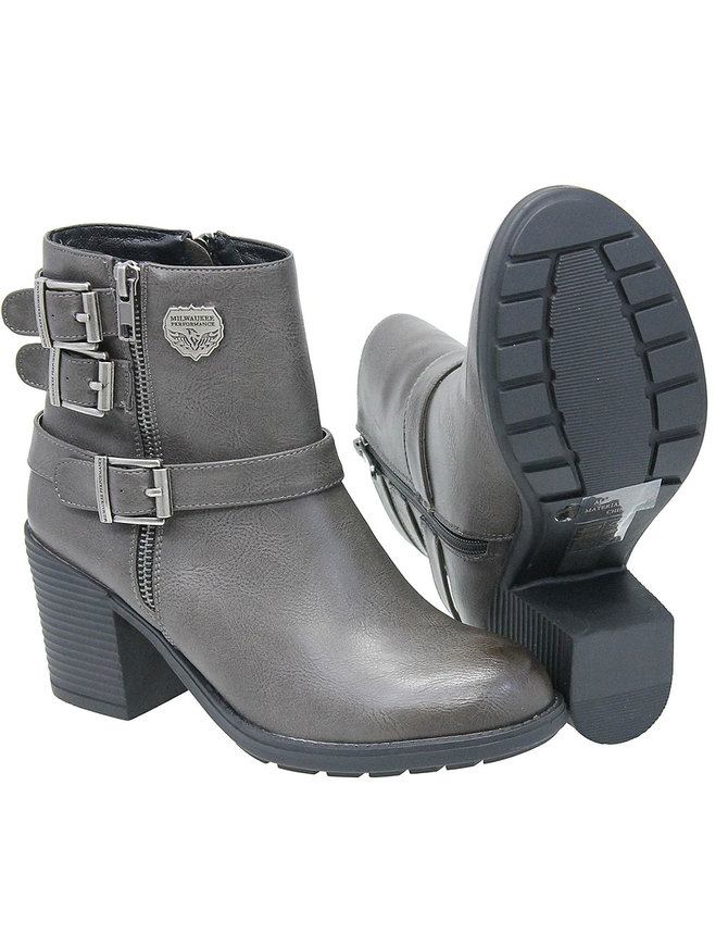 Milwaukee Milwaukee Gray Buckle Boot #BLC9406ZGY