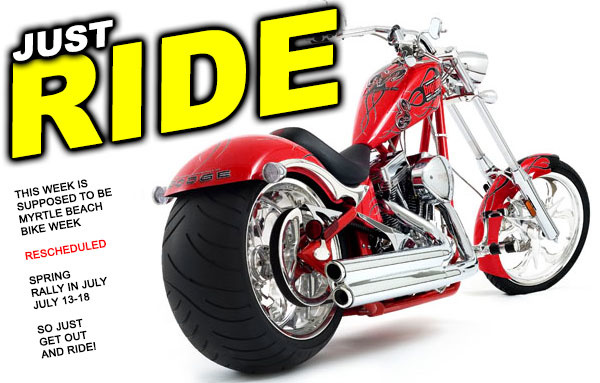 Let's Ride! Myrtle Beach Bike Week Rescheduled July 13-18