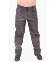 Jamin Leather Men's Vintage Brown Leather Pants #MP705N