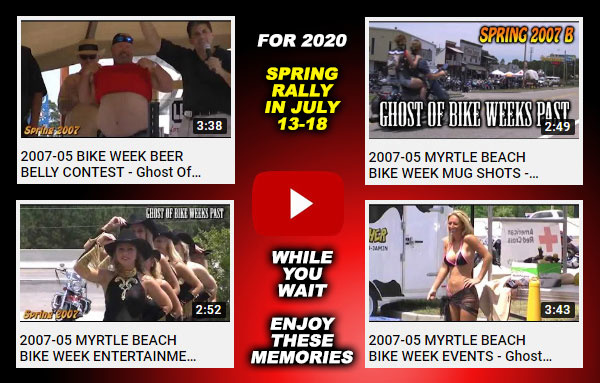 2020 Myrtle Beach Spring Rally in July ★ JULY 13-18 ★