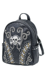 Skull and Crossbones Studded CCW Backpack #BP46168SKS