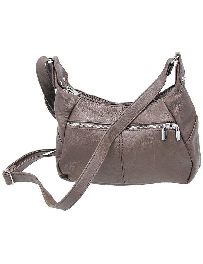 Brown Heavy Leather 7 x 11 Purse #P027K