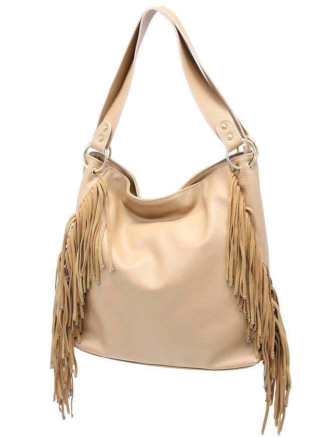 Large Studded Fringe Purse with CCW Pockets #P300F