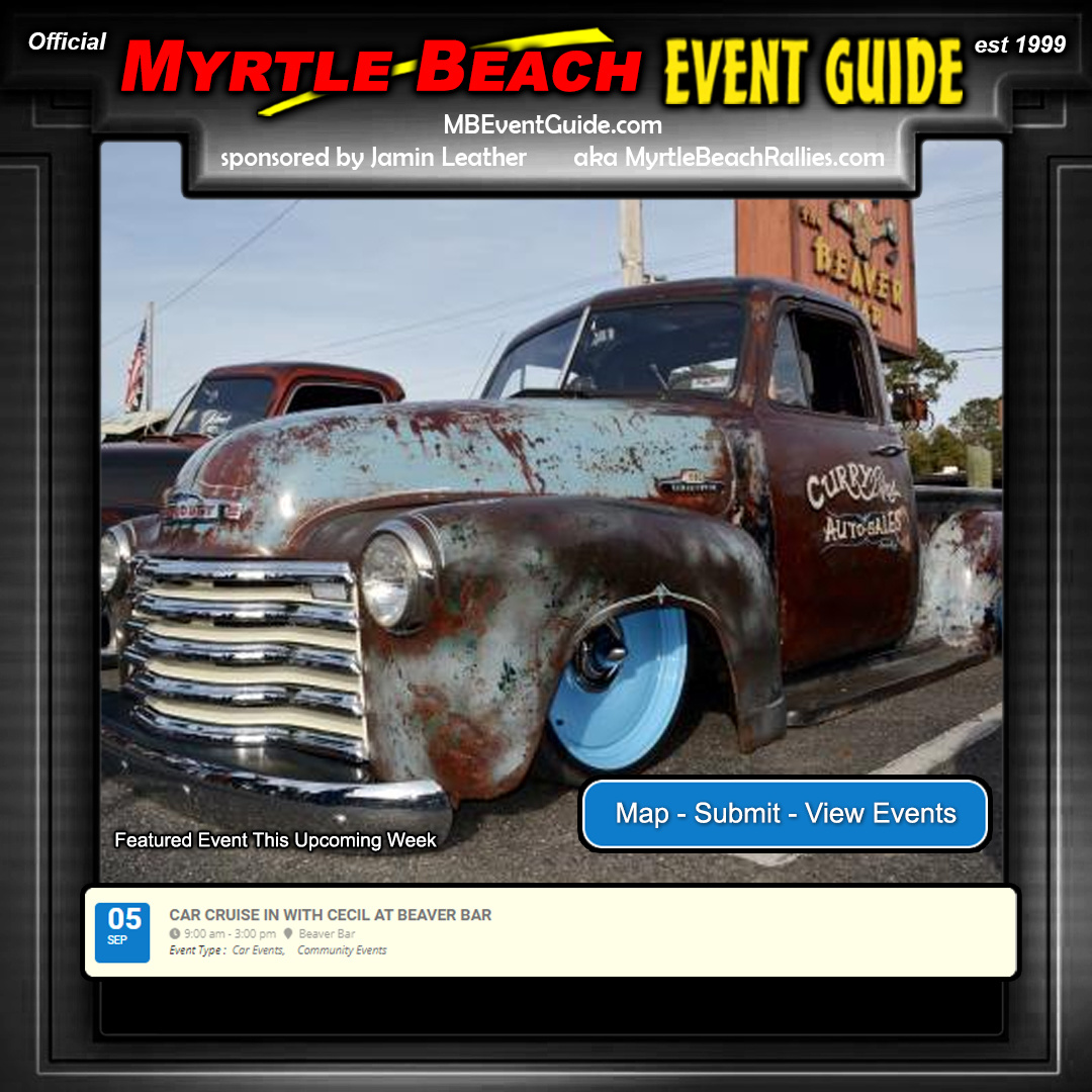 Featured Event - Car Cruise In With Cecil At Beaver Bar!