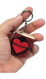 Tiny Heart Key Chain Diary #KC242598HRT