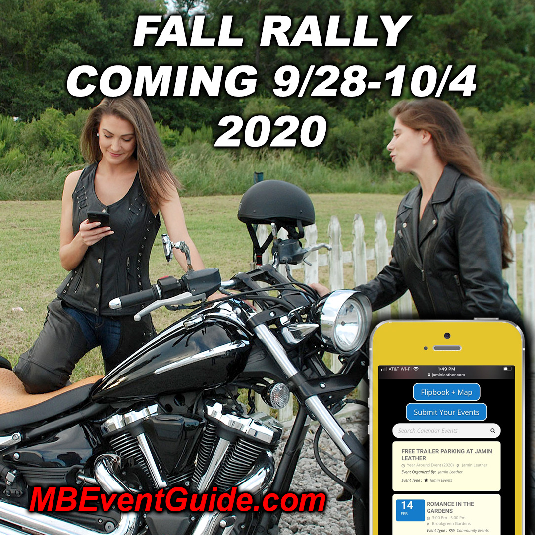 Fall Rally Coming 9/28 - 10/4 !! Save The Date!!