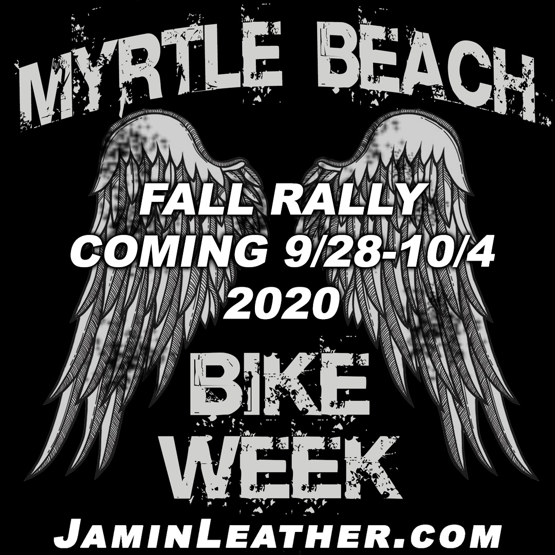 Myrtle Beach's Annual Fall Rally Coming 9/28 - 10/4 !!