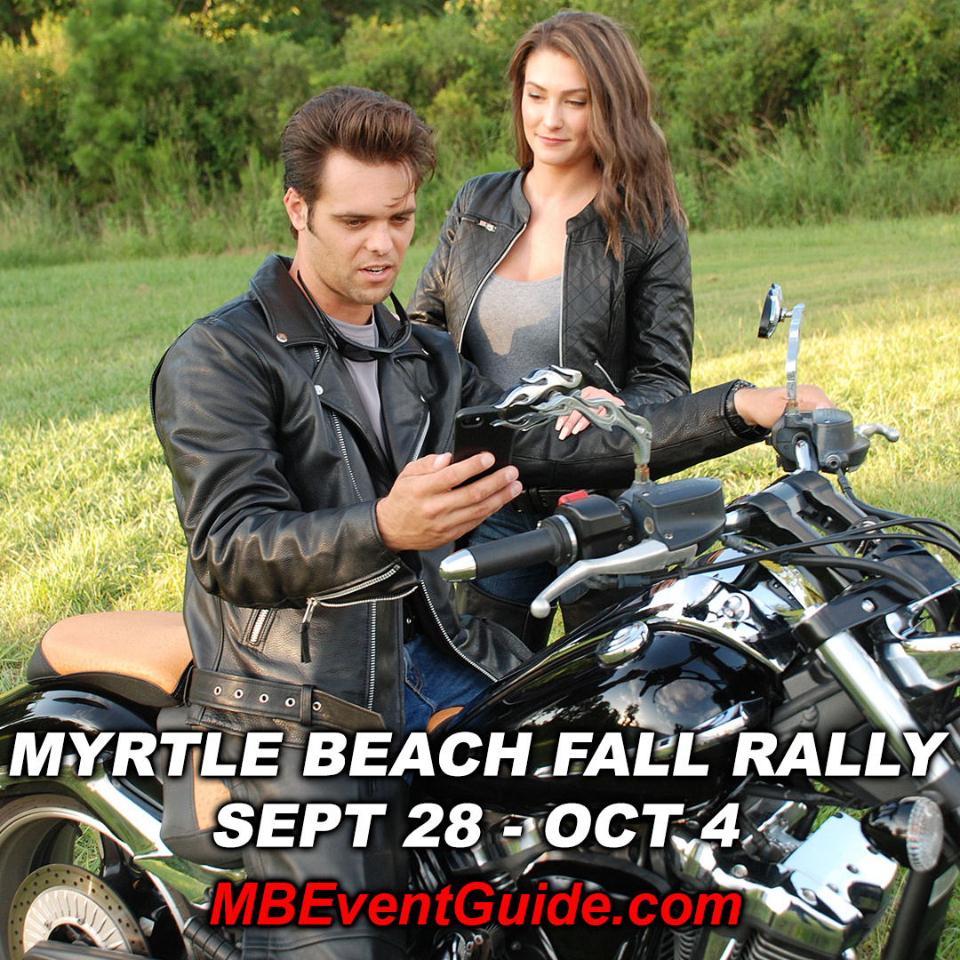 Woah! Myrtle Beach's Annual Fall Rally Starts Today !!