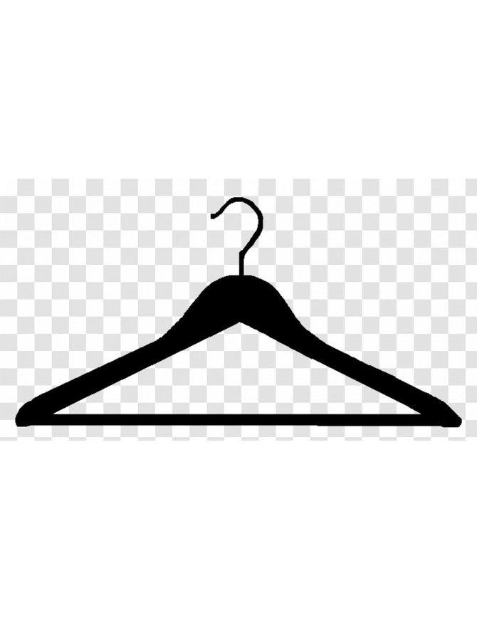 Quality Hanger For Leather Garments #HANGER