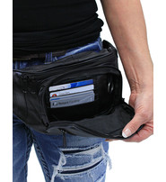 Classic Fanny Pack with Bottle Holder & Organizer #FP1664K
