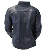 Men's Soft Lambskin Leather Shirt Deal #MS863K
