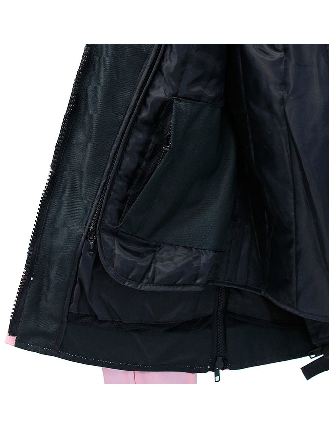 Pink Textile Vented Motorcycle Jacket with Armor #LC3453VZAP