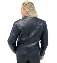 Jamin Leather Premium Women's Lambskin Leather Jacket with Zip Out Lining #L6020ZK