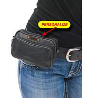 Longest Lasting Cell Phone Case & Eyeglass Belt Pouch w/Purse Strap #AC3105K