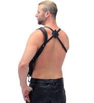 Black Leather Shoulder Holster #A358H