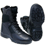 Rothco Men's 8 in Tactical Boots with Zipper #BM5053ZLK