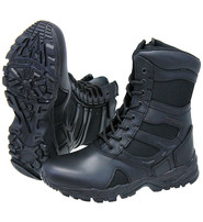 Rothco Men's Black Forced Entry Tactical  Boots w/Zipper #BM5358ZLK