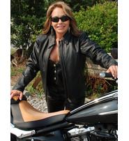 The Wanderer - Premium Buffalo Leather Jacket for Women #L38900