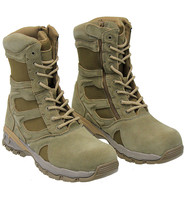 Rothco Men's Tan Comp Toe Forced Entry Tactical Zip Boots #BM57641ZLT